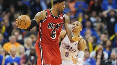 LeBron James, Miami Heat
