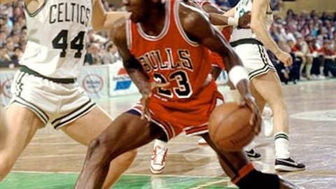 1986: Jordan burns Boston