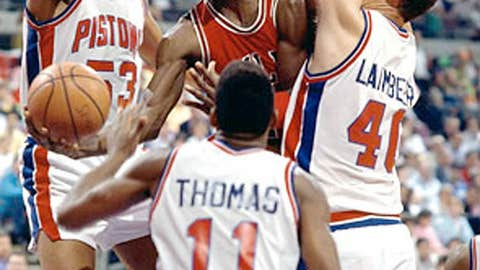 1988-90: Can't get past Pistons