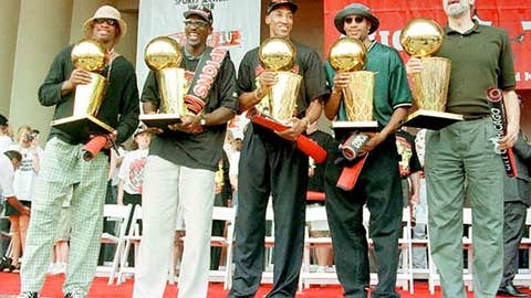 1997 championship parade