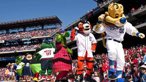 Who is America's top mascot?
