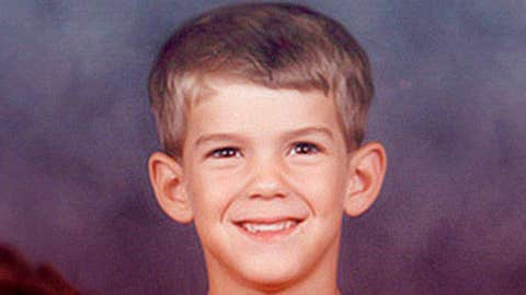 Childhood picture of Michael Phelps
