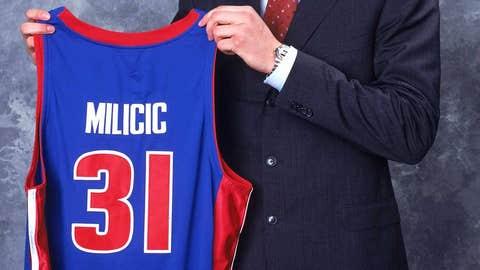 No. 2 -- Darko Milicic, Detroit Pistons