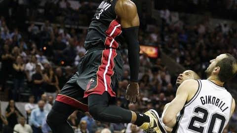 Wade wakes up