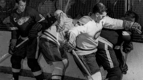 1954 Stanley Cup Finals: Red Wings 2, Canadiens 1 (OT)