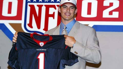 2003: David Carr, No. 1 overall pick (Texans)