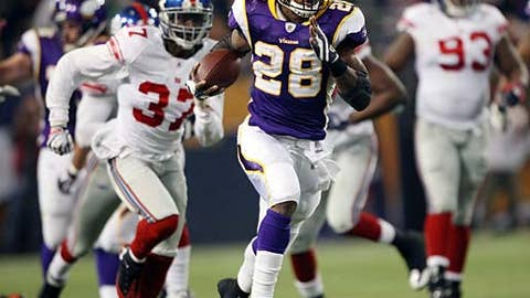 Adrian Peterson, Vikings RB