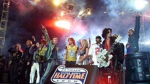 Aerosmith, Super Bowl XXXV