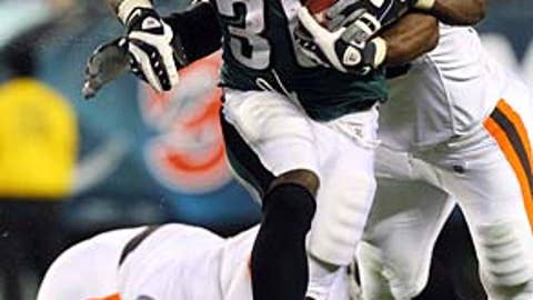 Brian Westbrook, Eagles RB