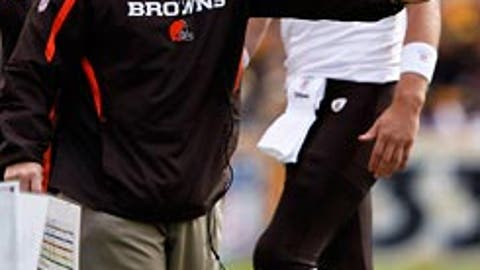 Eric Mangini being more indecisive than Brett Favre in July