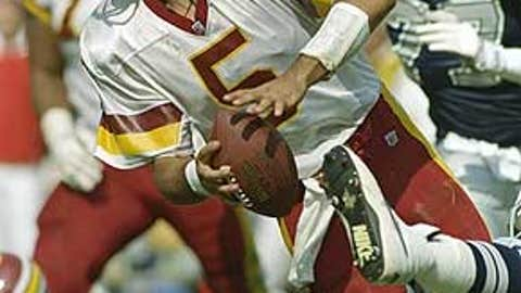Heath Shuler, No. 3 pick in 1994 (Redskins)