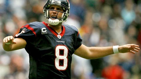 Houston QB Matt Schaub