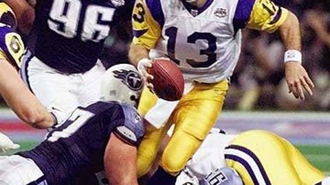 Kurt Warner -- St. Louis Rams, Super Bowl XXXIV