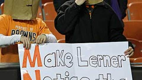 Let's hear it for Browns fans