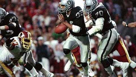 Marcus Allen, Super Bowl XVIII