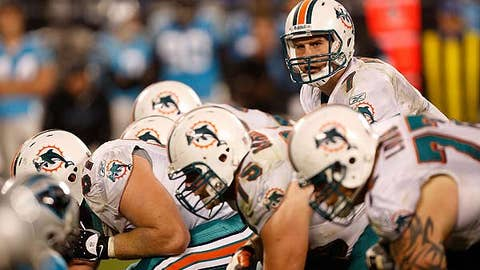 Miami overcame shuffling in the OL