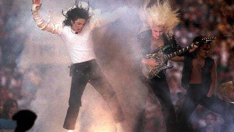 Michael Jackson, Super Bowl XXVII