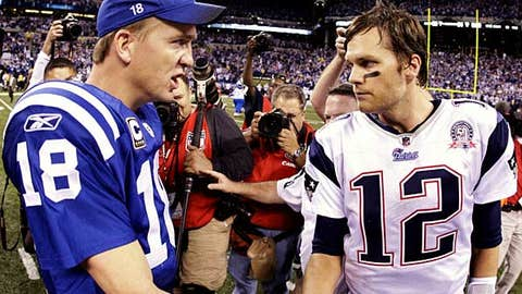 Peyton Manning vs. Tom Brady