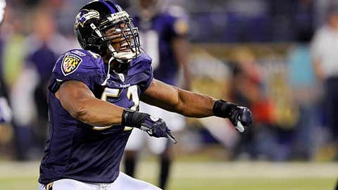 Ray Lewis, Ravens LB