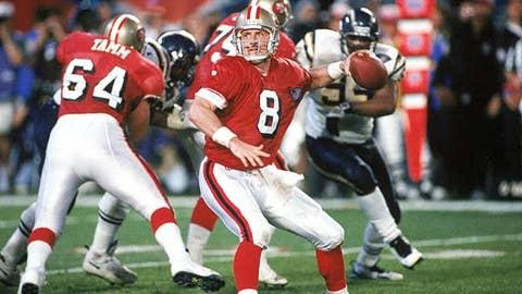 Steve Young -- San Francisco 49ers, Super Bowl XXIX