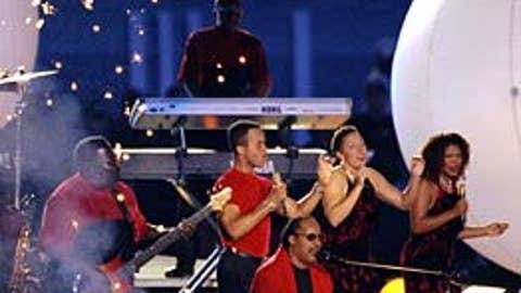 Stevie Wonder, Super Bowl XXXIII