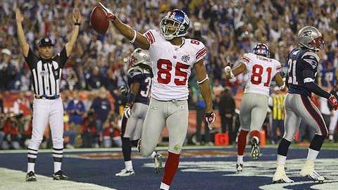 Super Bowl XLII - David Tyree, Giants