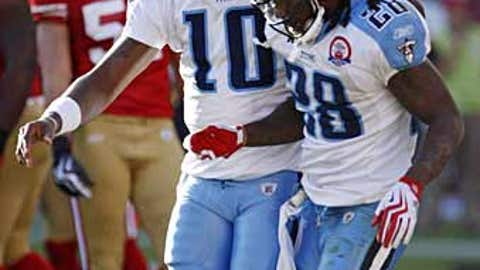 Teammates like playing for Vince Young