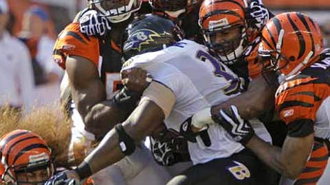 The Bengals can win with defense