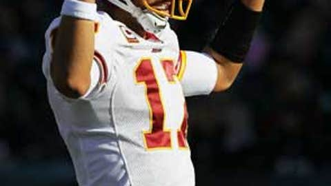 The Redskins aren't a doormat anymore