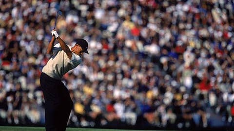 Tiger runs away with U.S. Open
