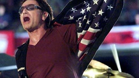 U2, Super Bowl XXXVI