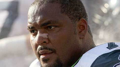 Walter Jones, Seahawks OT