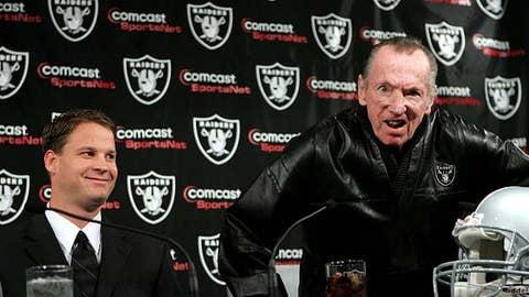 Worst: Al Davis, Raiders owner