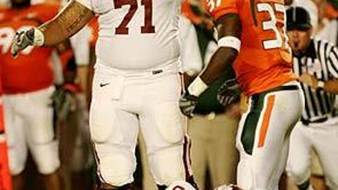 Trent Williams, Offensive tackle