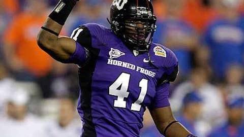 Winner: Daryl Washington, TCU linebacker