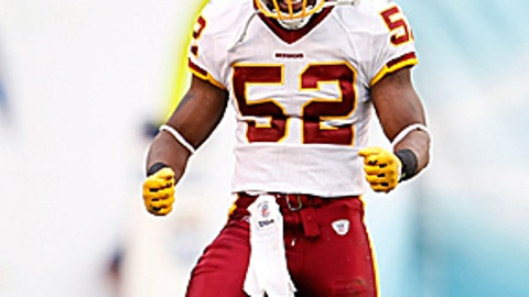 Rocky McIntosh, Redskins LB
