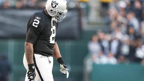 7-18 – QB JaMarcus Russell's record as a starter from 2007 until his 2009 release
