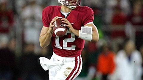 Washington Redskins: Andrew Luck, QB, Stanford