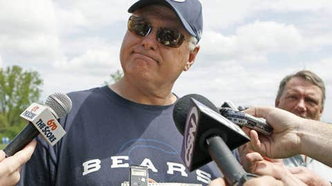 How long before Mike Martz wears out his welcome in Chicago?