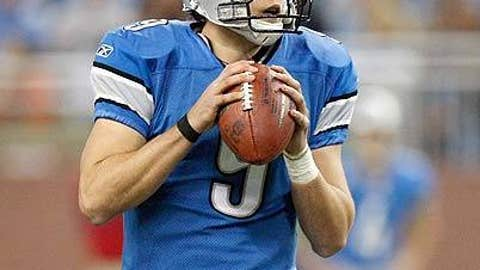 Matthew Stafford, Detroit