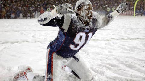 Bad weather can be a good thing for playoff football