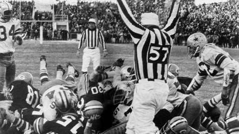 1967 NFL Championship, Dallas at Green Bay