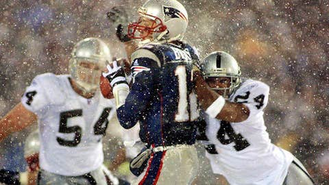 2001 AFC Championship, Oakland at New England