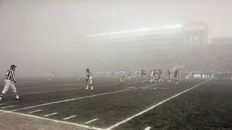 1988 NFC Playoffs, Philadelphia at Chicago
