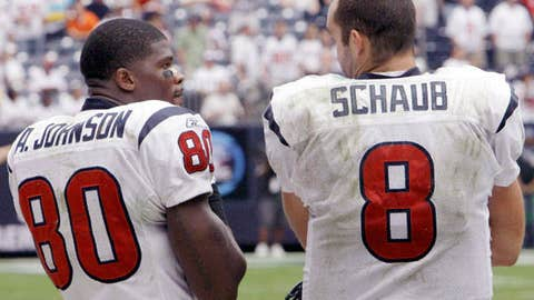 Matt Schaub to Andre Johnson, Houston Texans