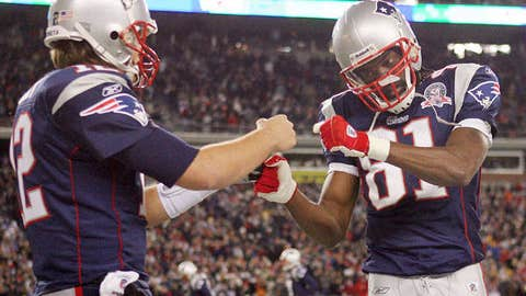 Tom Brady to Randy Moss, New England Patriots