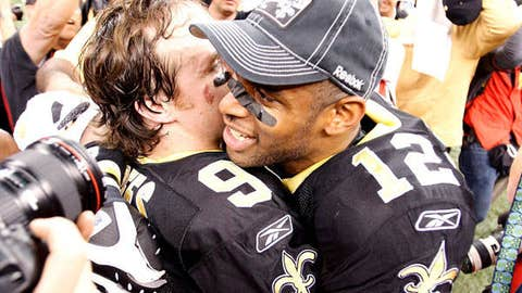 Drew Brees to Marques Colston, New Orleans Saints