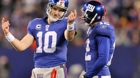 Eli Manning to Steve Smith, New York Giants