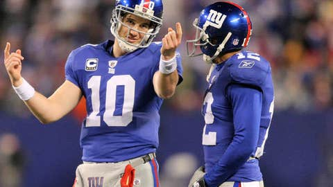Eli Manning to Steve Smith, New York Giants