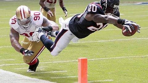 Steve Slaton, RB, Houston Texans